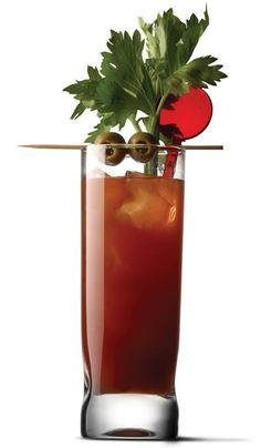 Heat it up with this Sriracha Bloody Mary #recipe #cocktail