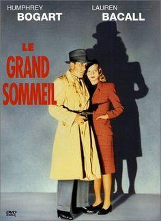 THE BIG SLEEP (1946) - Humphrey Bogart - Lauren Bacall - Directed by Howard Hawks - Warner Bros. - DVD cover art.