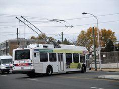 SEPTA New Flyer E40LF on Rt.59. New Flyer, Busses