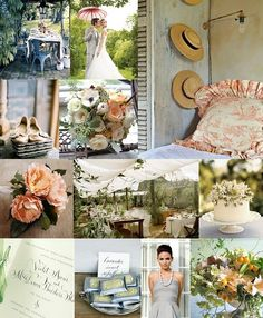 Delicate French Wedding