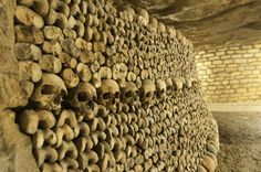 The Catacombs, Paris | The 19 Most Unnerving Spots On Earth, a cemetery for 6 million bodies.