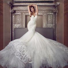 Galia Lahav Photoshoot for Confeti Magazine by Joanna Kustra - Pics) Dream Wedding Dresses, Bridal Dresses, Wedding Gowns, Weeding Dress, Bridal Gown, Bridesmaid Dresses, Beautiful Gowns, Beautiful Bride, Selfies