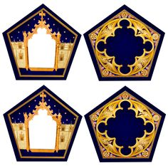 Chocolate frog templates