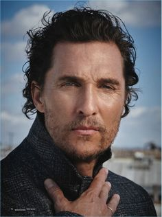 Actor Matthew McConaughey poses for a portrait.