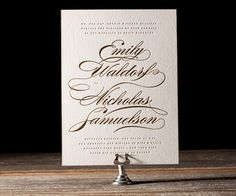 Whisper Letterpress Stationery from Bella Figura