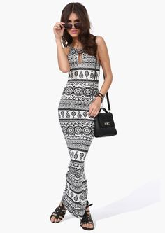 Great Expectations Maxi Dress