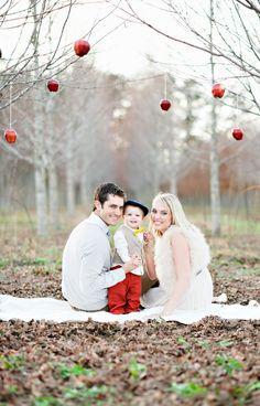 Christmas Family Photos....this is gorgeous!