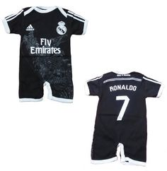 Real Madrid 3rd Baby Jumpsuit 2014/2015 4-8 months Adorable for $13.00