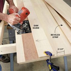 Build this easily customizable garage storage system with just a circular saw and drill