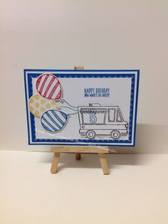 Balloon Adventures and Tasty Trucks Stampin' Up!