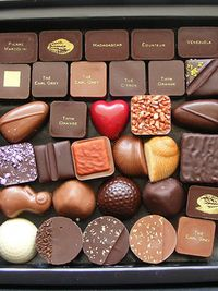 Death by Chocolate by KatieeL Artisan Chocolate, Death By Chocolate, Chocolate Sweets, I Love Chocolate, Chocolate Heaven, Chocolate Shop, Chocolate Bark, Chocolate Gifts, Delicious Chocolate