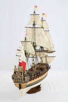 Ship model English Frigate Unicorn of 1665 / Saved by Stephen Lok           ~START~