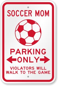 SOCCER MOM....I want this!
