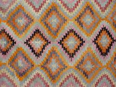 "Anatolian Turkish Classic Antalya Kilim Rug Carpet 81 4"" x 114 1"" | eBay"