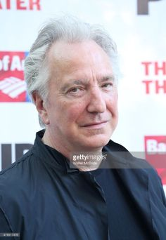 Alan Rickman attends The Public Theater's Annual Gala at the Delacorte Theater on June 9, 2015 in New York City.