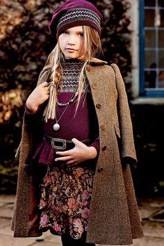 Ralph Lauren Ropa para niños Classic Faire Isla suéteres y bordes de piel tendrá sus hijos sensación acogedora de este otoño.  Explorar ahora