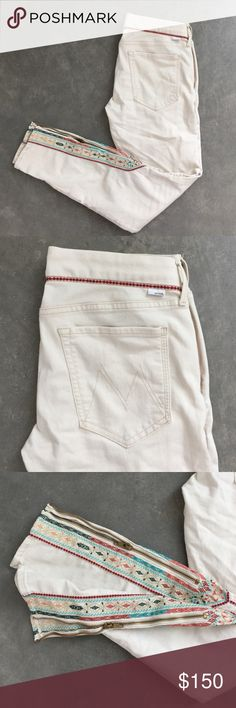 Rare! NWOT Mother jeans The looker- ankle zip- barefoot princess. NWOT - super rare MOTHER jeans. MOTHER Jeans Skinny