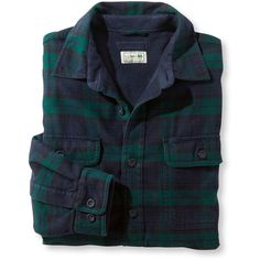 L.L.Bean Fleece-Lined Flannel Shirt, Traditional Fit Tall ($74) ❤ liked on Polyvore featuring men's fashion, men's clothing, men's shirts, men's casual shirts, mens tall flannel shirts, mens long sleeve shirts, mens flannel shirts, mens lined flannel shirts and mens short sleeve casual shirts
