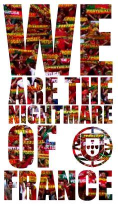 #POR #EURO2016 #PORFRA #FRA  WE ARE THE NIGHTMARE OF #FRANCE  Se tu acreditares, seremos MILHÕES a Acreditar.  Gosta, Partilha e Juntos Seremos Campeões !!!  https://www.facebook.com/portugalcampeao/