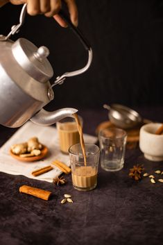 Photography Tea, Masala Tea, Spiced Coffee, Good Morning Coffee, Hot Chocolate Recipes, Tea Art, Perfect Breakfast, Drinking Tea, Chai
