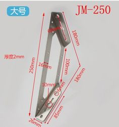 19.00$  Buy now - http://aliku3.shopchina.info/1/go.php?t=1000001341318 - 2pcs JM-250 Stainless steel corner bracket, Fixing bracket, bulkhead, fittings Connectors, Furniture Hardware 19.00$ #aliexpresschina