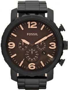 JR1356, 1356, FOSSIL nate watch, mens