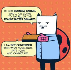 """electricalmorals: """"People have been asking about it, so here it is: Business Cat from Our New Electrical Morals mashed up with Catbug from Bravest Warriors. Business Cat, Fangirl Problems, Bravest Warriors, Watch Cartoons, Geek Out, Like A Boss, Steven Universe, Movies And Tv Shows, Nerd"""