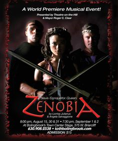ZENOBIA THE MUSICAL – Don't miss it this weekend. Description from geodepress.com. I searched for this on bing.com/images