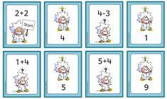 Mathe in der Grundschule: Anlegekarten im Zahlenraum 20