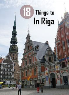 Riga is the beautiful capital of Latvia. The enchanting old town is an UNESCO Wo… Riga is the beautiful capital of Latvia. The charming old town is a UNESCO World Heritage Site. Here are 18 things to do in Riga. Europe Travel Tips, Places To Travel, Travel Destinations, Travel Guide, Vacation Travel, Vacation Spots, European Destination, European Travel, Travel Tips