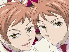 Hikaru and Kaoru from Ouran High School Host Club