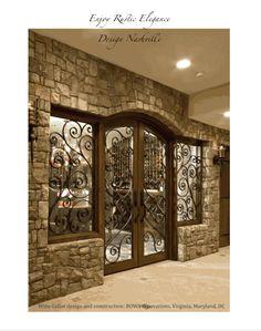 wine cellar.  stone