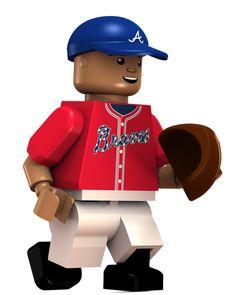 #19 Andrelton Simmons Shortstop - Atlanta Braves Limited Edition OYO minifigure