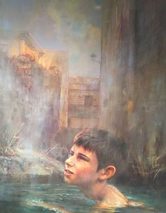Theunert Holger | Kompatscher Brixen | Galerie Hofburg - Kunst Südtirol Surrealism, Portrait, Painting, Kunst, Headshot Photography, Painting Art, Portrait Paintings, Paintings, Painted Canvas