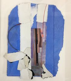 "Bruce Dorfman ""Flite VII""  2013 13 x 10 in.  Assembled Painting"