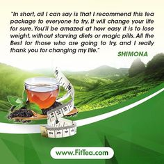 Life Changer. #Tea #Fit #Healthy #FitTea #HealthyLife #Fitness #HealthyLiving #Wellness http://www.fittea.com/