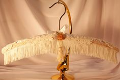 Padded WeDDING HANGeR HANGER COUTURE Gold Metal by MaryMarryMe