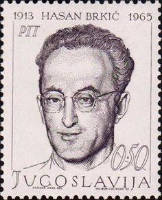 Yugoslavia Stamp 1968 - Hasa Brkic 1913-1965