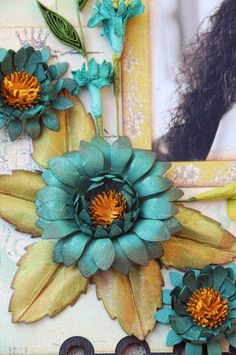 What A Beautiful Mess: Passion Daisy Tutorial.
