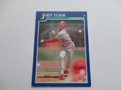 John Tudor 1991 Score Baseball Card.