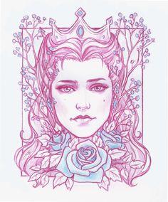 Anna Henrietta by Anastasia Kulakovskaya (Witcher)
