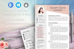 Accountant Resume Template for Word Executive Manager Job Resume Template, Modern Resume Template, Cv Template, Cv Design, Resume Design, Report Design, Design Trends, Cv Examples, Good Resume Examples