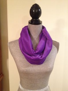 Microfleece Infinity Scarf in Purple: $15.00   This scarf is made from a microfleece that feels very light and soft against your skin. Your Skin, Infinity, Feels, Purple, Fashion, Moda, La Mode, Purple Stuff, Fasion