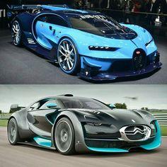 Bugatti or Citroën Survolt? Lamborghini, Ferrari, Bugatti Cars, My Dream Car, Dream Cars, Supercars, Car Facts, Porsche, High End Cars