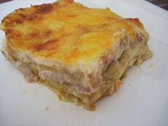 Recetas por puntos: RECETAS POR PUNTOS DE LASAÑA DE PATATA, JAMON Y QU... Ingredientes: para 4 personas 800 grs. de patatas (16 PUNTOS) 250 grs. de jamón cocido (7 PUNTOS) 4 lonchas de queso para fundir light (4 PUNTOS) 30 grs. de queso Emmental rallado (3 PUNTOS) 2 cdas. de nata líquida ligera (2 PUNTOS) Nuez moscada (0 PUNTOS) Pimienta (0 PUNTOS) Sal (0 PUNTOS)