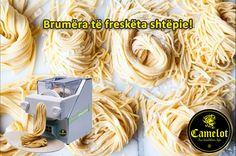 """Makaronabërës Imperial Tech - Bëni ndjenjat tuaja të arrijnë në maksimum duke krijuar shijet tuaja të shëndetit me pajisjen superbashkëkohore Camelot Casa di """"Frescopasta"""". Spaghetti Noodles, Noodles, Noodle"""