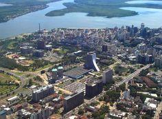 Porto Alegre, vista aérea