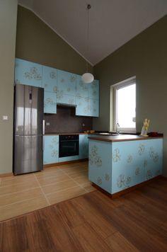 http://www.yotka.pl/, Photo of the whole laminate kitchen. :-), YOTKA - wyposażenie wnętrz meble