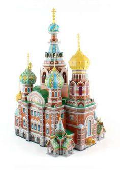 Eiffel Tower 3D Paris Adult Puzzle Jigsaw Worlds Large ARCHITECTURE France 37