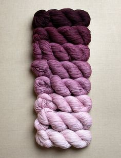 Purl Soho Products Item Cashmere Ombre Wrap Kit